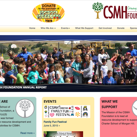 CSMH Foundation Website